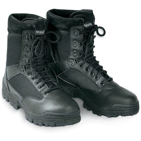 SURPLUS SECURITY Boots, 9-Loch, schwarz 47