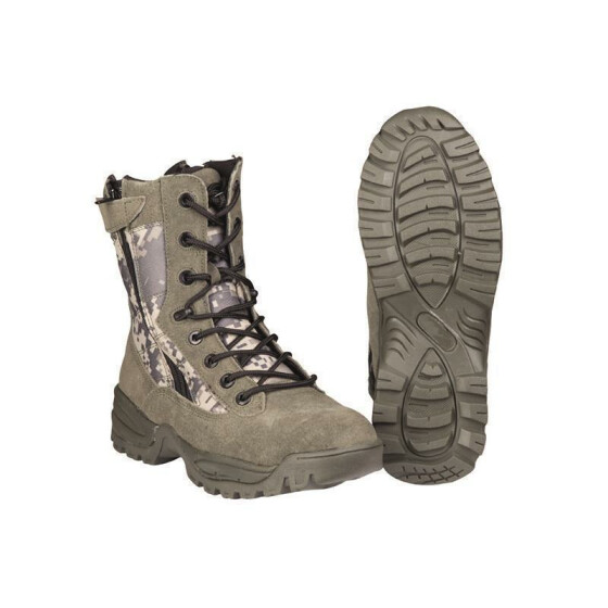 MILTEC Tactical Boots, Two-Zip, AT-Digital 45