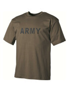 MFH T-Shirt, ARMY, oliv XL