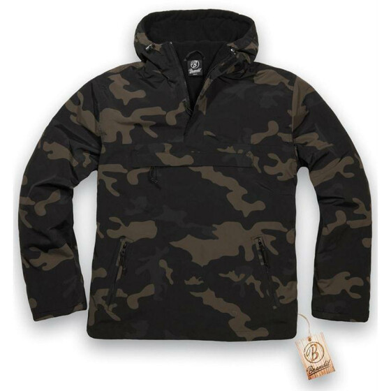 BRANDIT Windbreaker, darkcamo XL