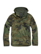 BRANDIT Windbreaker, woodland XL