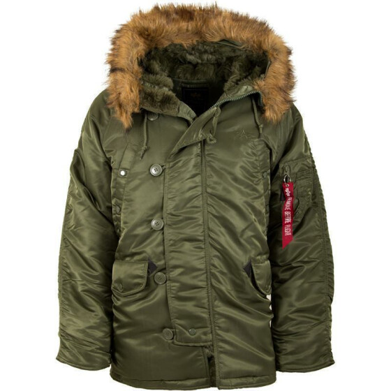 Alpha Industries  US Pilotenjacke N3B, sage green
