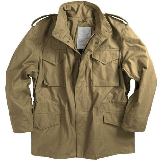 Alpha Industries  US Feldjacke M65, khaki