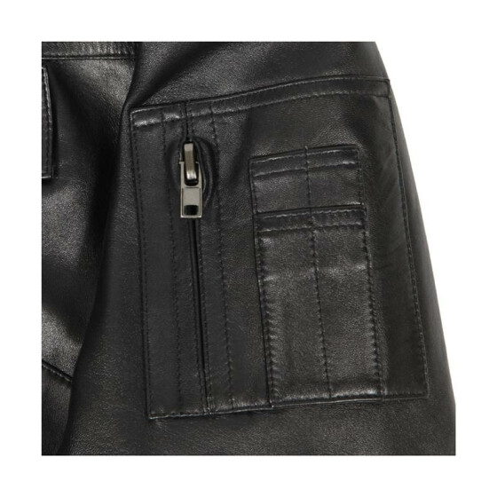 Alpha Industries  Leather CWU-45/P, black