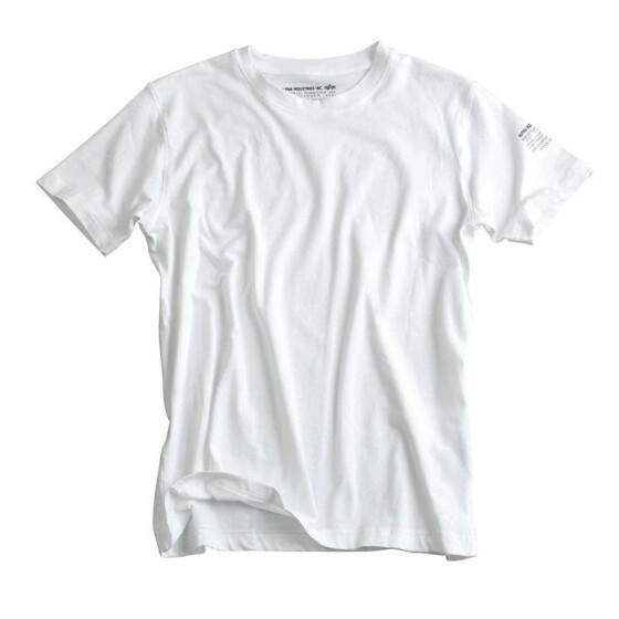 Alpha Industries  BODYWEAR T-Shirt, white