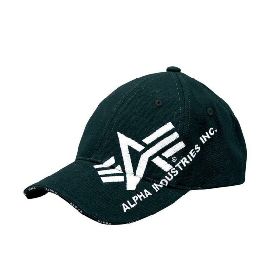 Alpha Industries  Big A Cross Cap, black