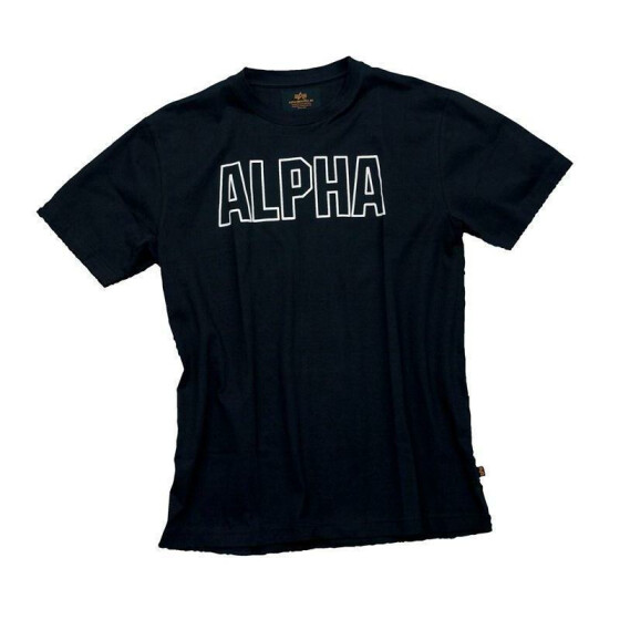 Alpha Industries  Track Shirt, black