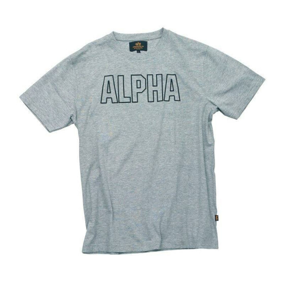 Alpha Industries  Track Shirt, grey heather