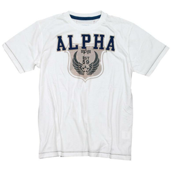 Alpha Industries  Wing T, white