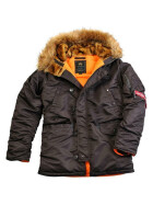 Alpha Industries  N3B VF 59, deep brown L