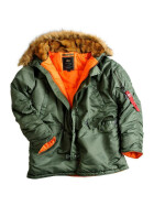 Alpha Industries  N3B VF 59, sage green S
