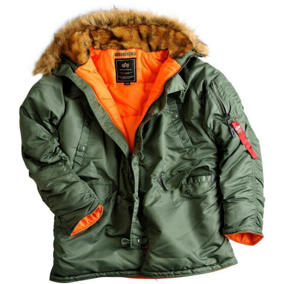 Alpha Industries  N3B VF 59, sage green M