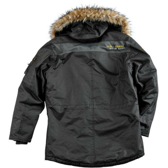 Alpha Industries   Mountain Parka, rep .grey