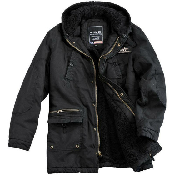 Alpha Industries  Forcer Jacket, greyblack L