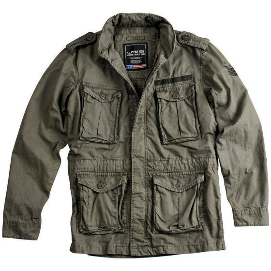 Alpha Industries  Corps Jacket, greyblack