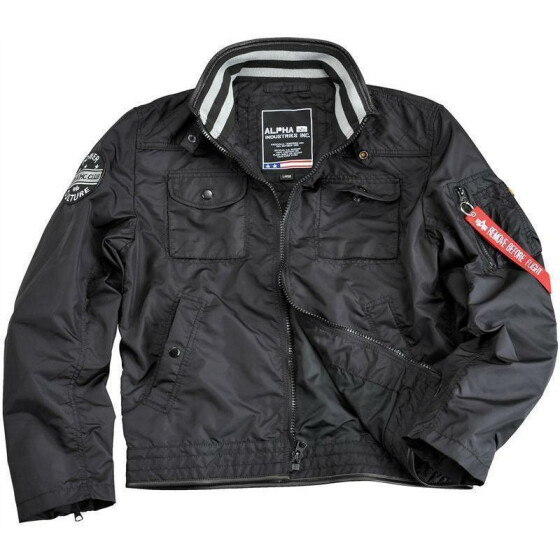 Alpha Industries  MC Club Jacket, black