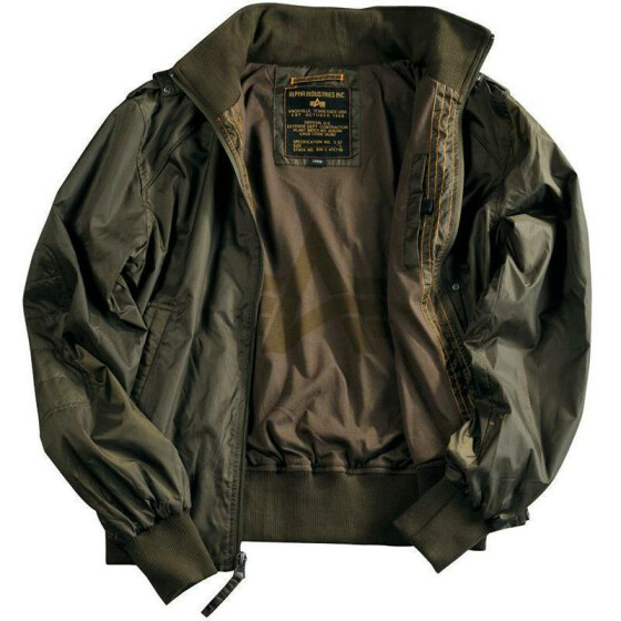 Alpha Industries  HAWK, dark olive S