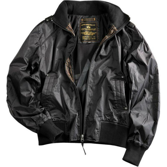 Alpha Industries  HAWK, black S