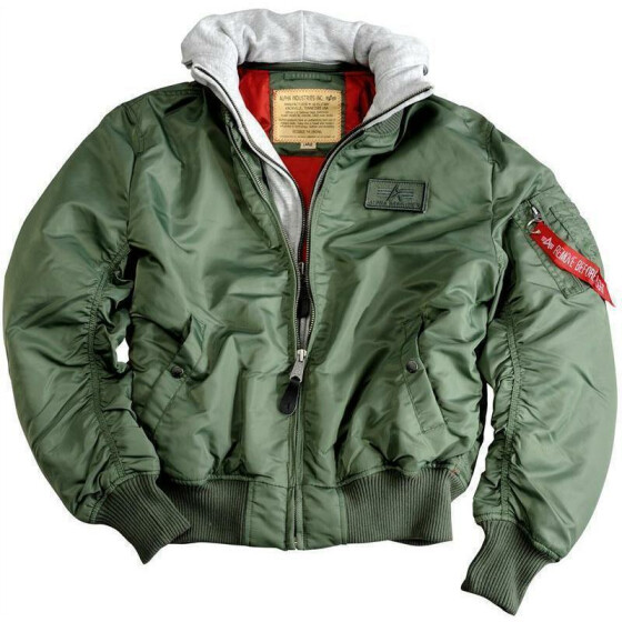 Alpha Industries  MA-1 D-tec, sage green XXL