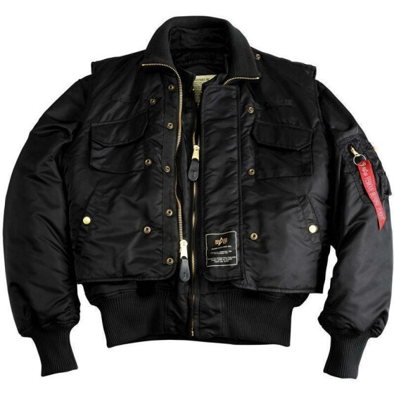 Alpha Industries  X-FORCE, black S