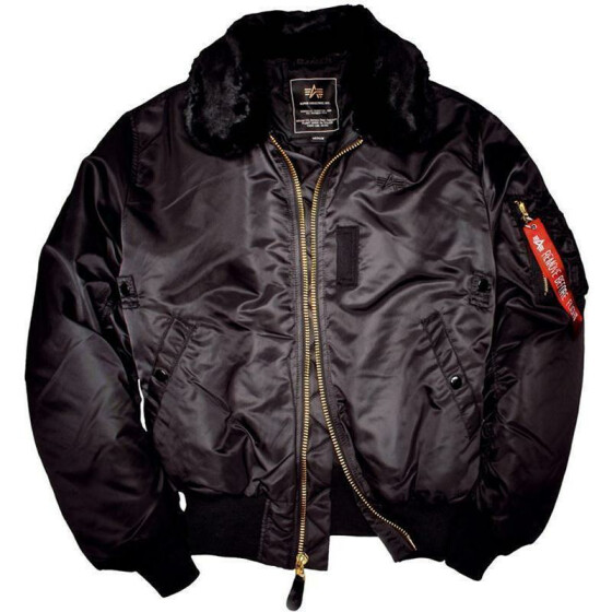 Alpha Industries  B-15 Fliegerjacke, black M
