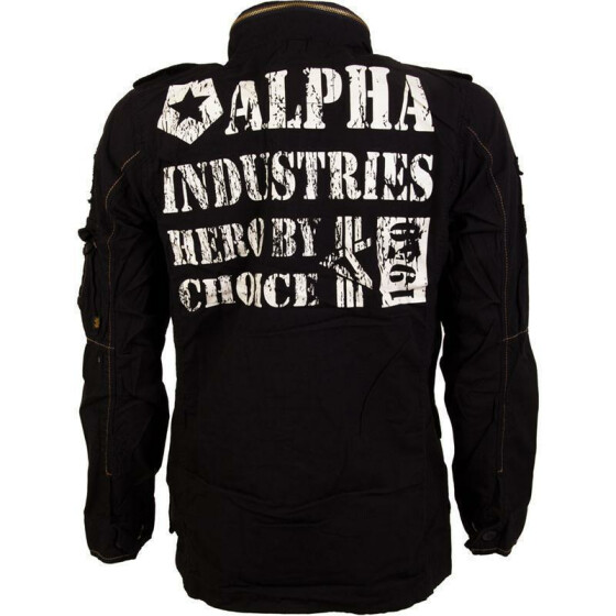 Alpha Industries  ARLINGTON, black