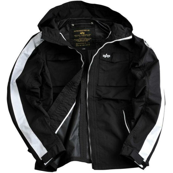 Alpha Industries  STORMER, black