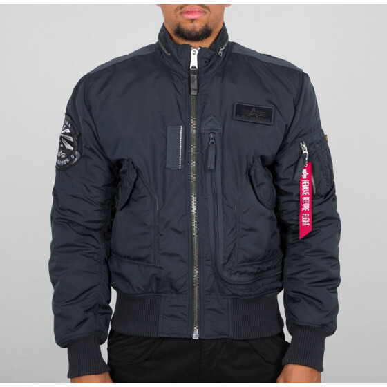 Alpha Industries  ENGINE, rep. blue XL