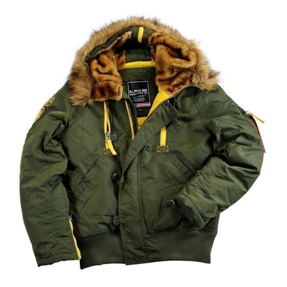 Alpha Industries  PPS N2B, dark green M