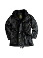 Alpha Industries  STATION, black L