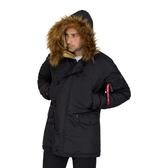 Alpha Industries  EXPLORER, black XL