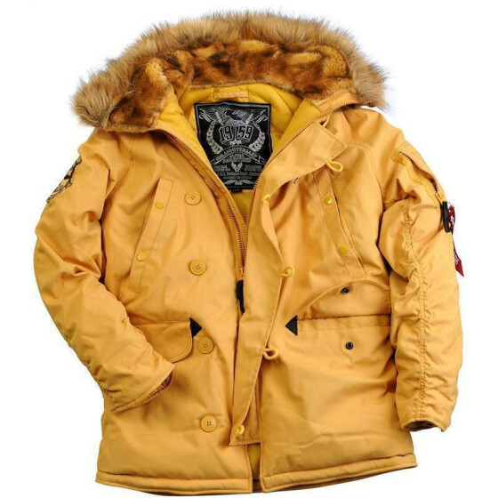 Alpha Industries  EXPLORER, mustard L
