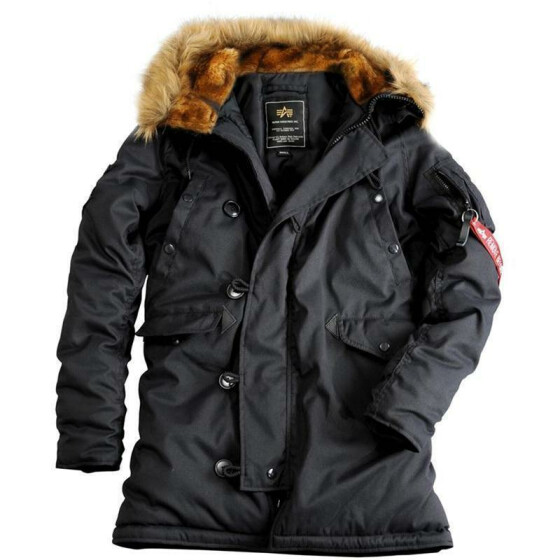 Alpha Industries  EXPLORER women (Damen), black XL