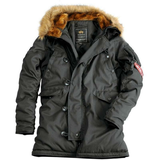 Alpha Industries  EXPLORER women (Damen), rep. grey M