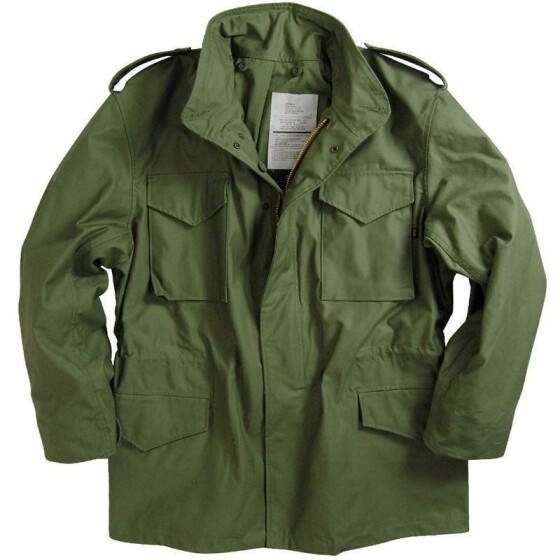 Alpha Industries  US Feldjacke M65, olive S
