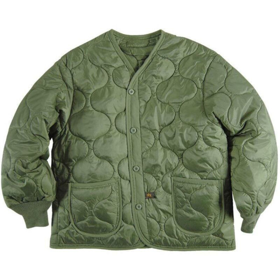 Alpha Industries  Futter M65 Jacke, olive M