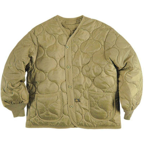 Alpha Industries  Futter M65 Jacke, khaki 3XL