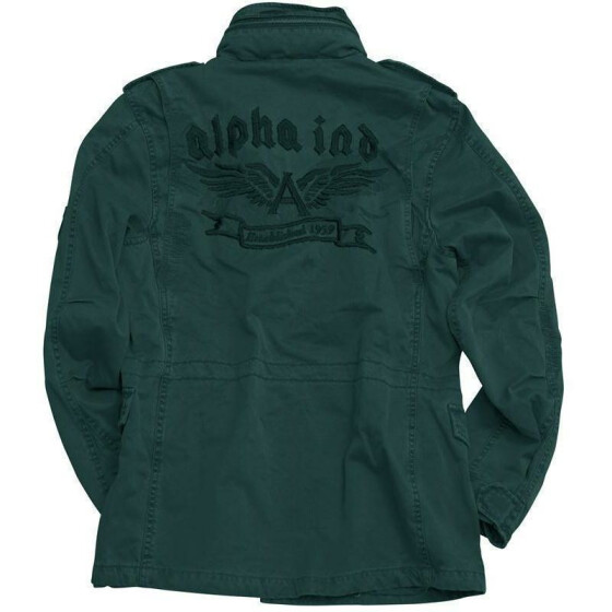 Alpha Industries  Filed Jacket Flying A, black