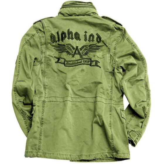 Alpha Industries  Field Jacket Flying A, light olive