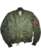 Alpha Industries  MA-1 VF 59, sage green XL