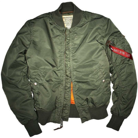 Alpha Industries  MA-1 VF 59, sage green 3XL