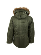 Alpha Industries  US Pilotenjacke N3B, sage green XXL