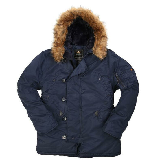 Alpha Industries  US Pilotenjacke N3B, rep. blue L