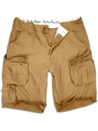 SURPLUS Trooper Short, beige washed 6XL / 123 cm