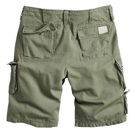 SURPLUS Trooper Short, oliv washed M / 88 cm