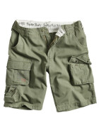 SURPLUS Trooper Short, oliv washed 5XL / 118 cm