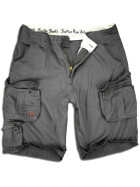 SURPLUS Trooper Short, black washed 4XL / 113 cm