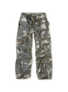 SURPLUS Infantry Cargo Trouser, stonewashed, night camo XL / 95 cm