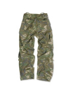 SURPLUS Infantry Cargo Trouser, stonewashed, woodland L / 90 cm