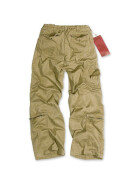 SURPLUS Infantry Cargo Trouser, stonewashed, camel S / 80 cm